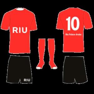 uniforme riu futbol aruba
