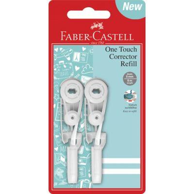 Correctieroller Faber Castell navulling One touch 2 stuks