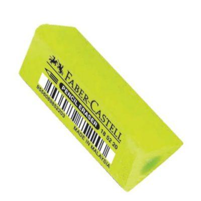 Gum Faber Castell assorti fluorkleuren