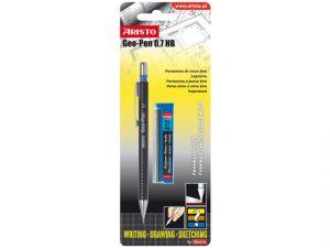 Vulpotlood Aristo GEO Pen Zwart 0.7mm Hb