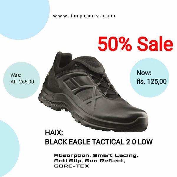 50% Sale on HAIX shoes.