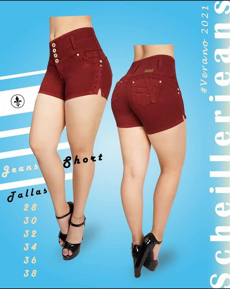 "Give it a lift with our curve enhancing ""Levanta Cola"" shorts…🌞 Prijs: Afl 37.10"