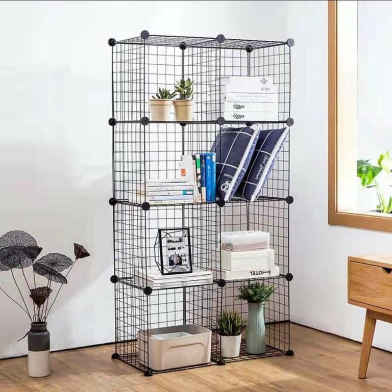 Metal wire cube rack storage Afl 59.95